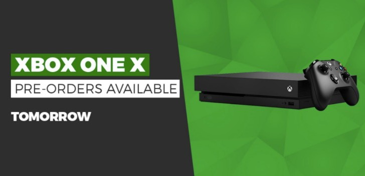Xbox One X UK Pre-order date with best price