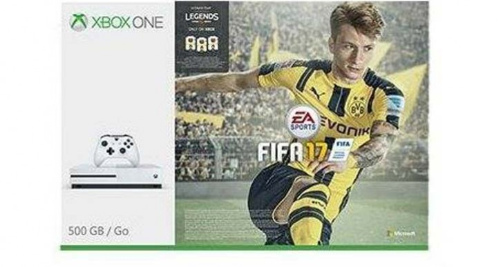 New Xbox One S FIFA 17 bundle price at Tesco is UK lowest