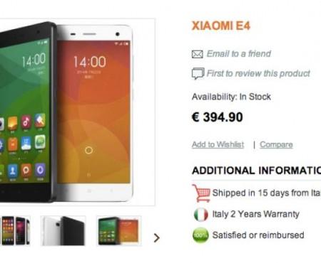Xiaomi Mi4 India release date excitement
