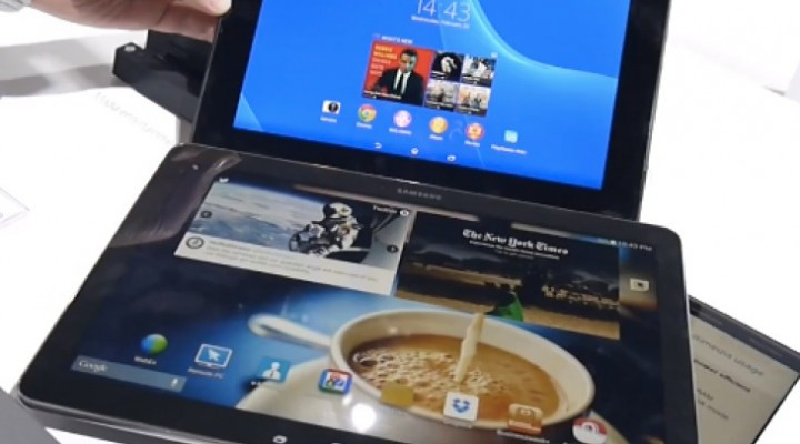 Sony Xperia Tablet Z2 Vs Galaxy Note Pro 12.2 review