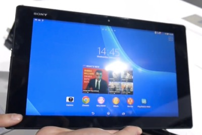 Sony knows how to build a sexy tablet..