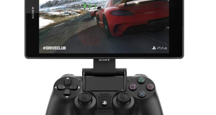 Sony Xperia Z3 Tablet Compact with PS4 secret