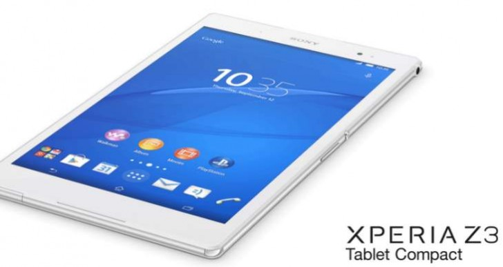 Sony Xperia Z3 Tablet Compact price Vs iPad Mini 3