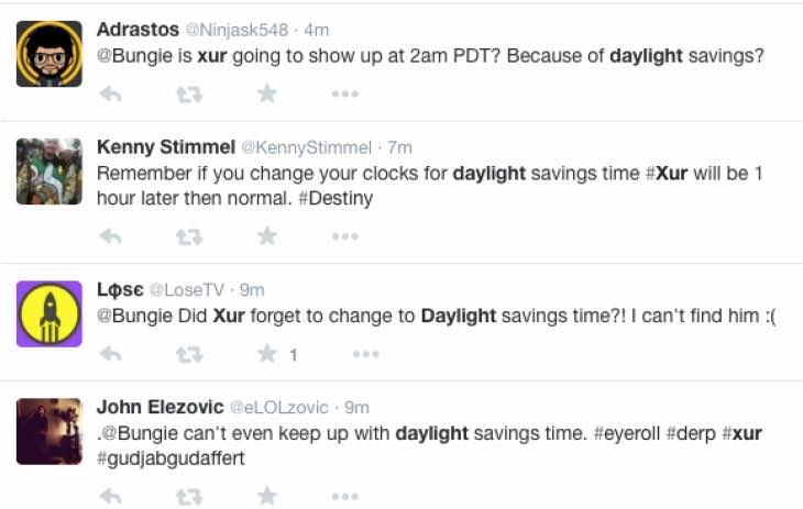 xur-daylight-savings-time-march-13