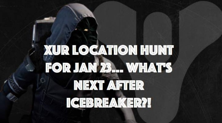 Xur location anxiety on Jan 23 in Destiny