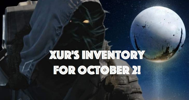Xur is selling Immolation Fists for Oct 2 inventory
