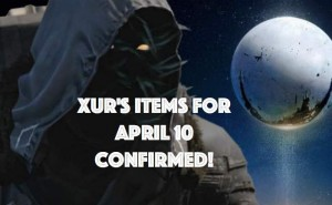 Xur's new items for April 10 with surprise