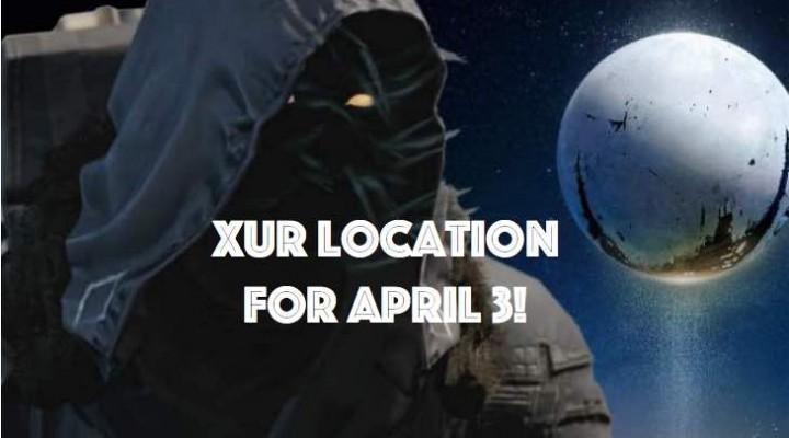 Destiny Xur hype for April 3