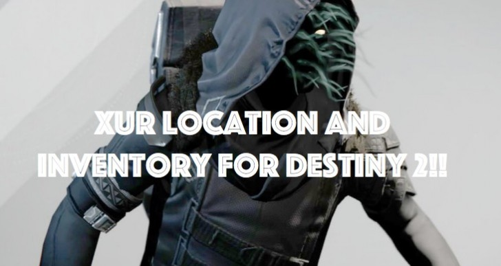 Destiny 2 Xur location on Sept 15 and what he is selling