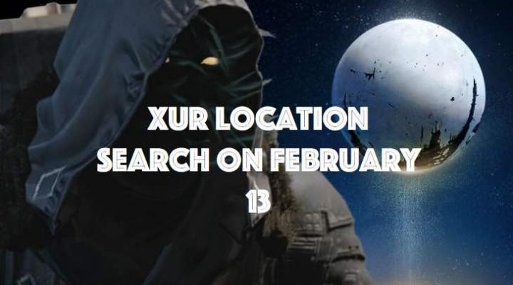 Xur in Destiny on February 13