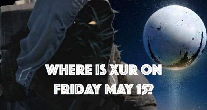 Pinpointing Destiny Xur location for May 15