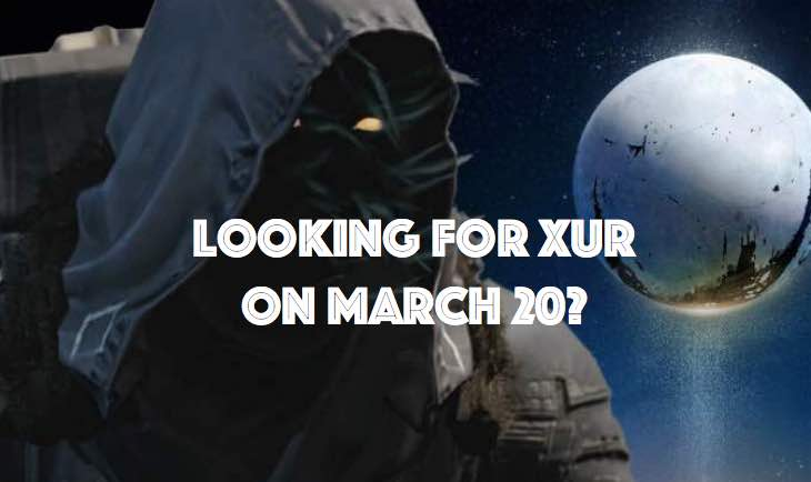 Xur for March 20 after Red Death