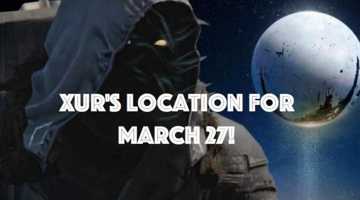 Destiny Xur location wait for March 27