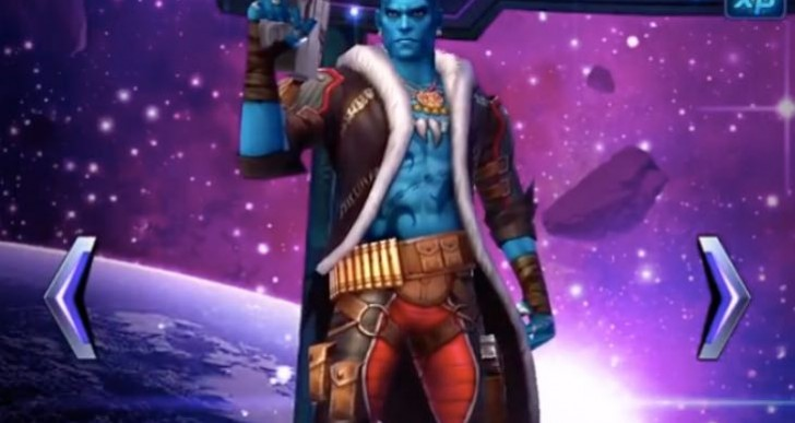 Marvel Future Fight Yondu Vs Alliance Battle Speed review