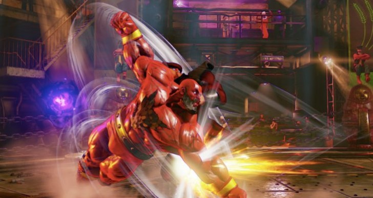 Zangief Street Fighter 5 V-Skill, V-Trigger gameplay
