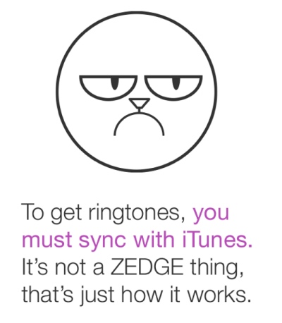 Zedge needs TonySync to operate