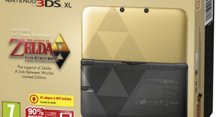 Zelda 3DS XL doesn't come with a charger