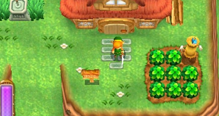 Zelda A Link Between Worlds: Dark Vs Light World