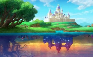 Zelda A Link Between Worlds Lorule gameplay
