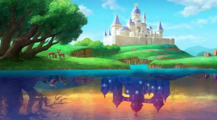 Zelda A Link Between Worlds Lorule gameplay