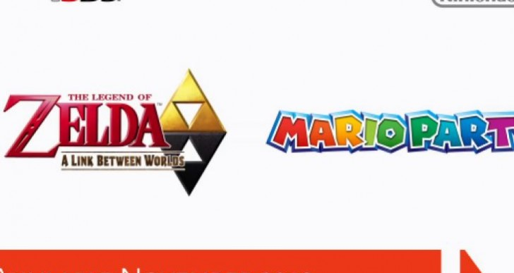 Zelda A Link Between Worlds release date set for November