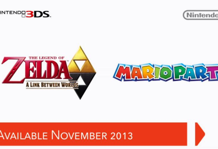 Zelda A Link Between Worlds release date set for November