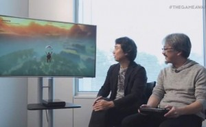 New Legend Of Zelda Wii U trailer with giant map on GamePad
