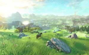 Legend of Zelda Wii U open world multiplayer
