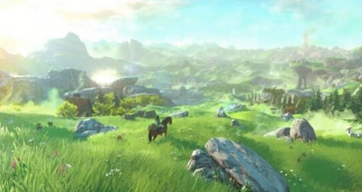Zelda Wii U map size expectations