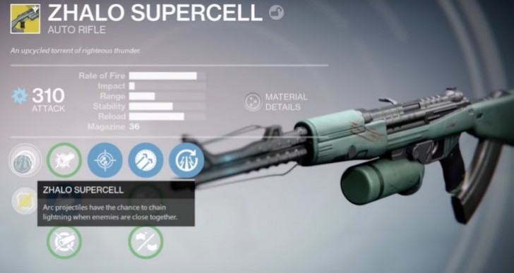 Destiny Zhalo Supercell review after Xur special