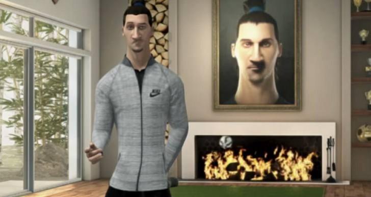 PSG loans Zlatan to Nike Football app